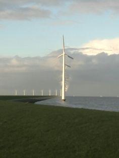 Met telefoon genomen langs de A6 in bocht richting Swifterbant Dronten vanaf Emmeloord.