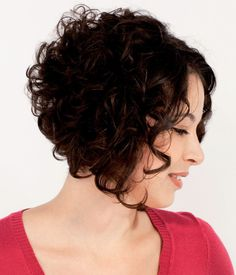 Inverted Bob on Pinterest   Curly Stacked Bobs, Curly Angled Bobs ...