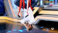 yogacreativo.com: Carlos Latre y Pablo Motos Practican Método AeroYoga® en el Hormiguero de Antena 3