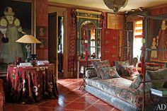 Anouska Hempel's English Country House Photos | Architectural Digest