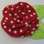 Free Fabric Flower Patterns & Tutorials