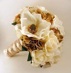 Her wedding bouquet, still cherished, never fogotten