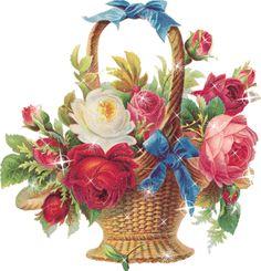 Фото цветов блестящие. Красивые живые цветы gif