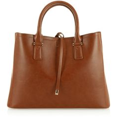 Accessorize Classic Bucket Tote bag ($79) ❤ liked on Polyvore featuring bags, handbags, tote bags, brown tote, bucket purse, brown handbags, bucket tote and brown tote bag