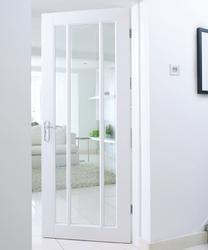 Understanding the purpose of white interior doors with glass – Designalls Internal Doors Modern, Internal Glazed Doors, Internal Sliding Doors, Modern Door, White Interior Doors, White Doors, Glazed Fire Doors, Indoor Glass Doors, Room Doors