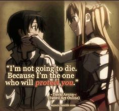 Sword Art Online, Kirito and Asuna