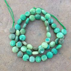Green Moss Opal Beads, Coin Shaped Beads, Faceted, 16 inch strand by marketplacebeads on Etsy Opal, Amethyst, Bead Shop, Purple Lilac, Affordable Jewelry, Love Bracelets, As You Like, Jewelry Supplies, Gemstone Beads