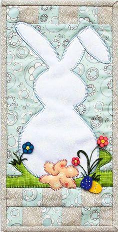 Patch Abilities Inc.  Original Pattern Design  MM804 Bunny Got Back www.patchabilities.com