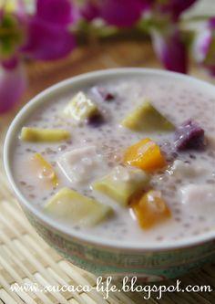 Learn Exactly how to make Chinese Food Dessert Thai Dessert, Dessert Dishes, Dessert Drinks, Vietnamese Dessert, Malaysian Cuisine, Malaysian Food, Malaysian Recipes, Cha Recipe, Nyonya Food