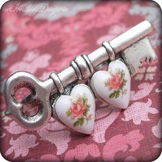 Hearts:  Key with #hearts.