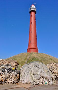 Lighthouse IJmuiden (Netherlands)   View large on black De h…   Flickr