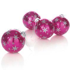 Kugel-Set / Christmas balls  #impressionen #pink