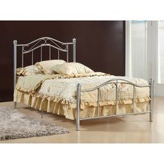 Gavin Silver Twin Bed - Walmart.com $115 headboard and foot, need box spring