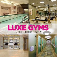 These Lavish Gyms Are So Lovely, You'll Want to Live in Them