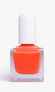 Love this bright coral polish