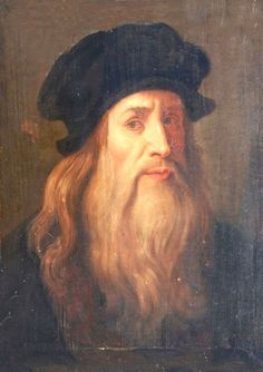 """This is called the :Lucan Self Portrait. A supposed self-portrait of Leonardo da Vinci. """" """"Believed by some experts to be a self-portrait and therefor the work upon which a number of later paintings. Renaissance Artists, Italian Renaissance, Renaissance Recipe, Most Famous Paintings, Famous Artists, Top Paintings, Italian Painters, Italian Artist, Michelangelo"""
