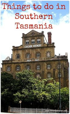 Things to do in #Tasmania!  As well as practical information to help you plan your trip http://www.wheressharon.com/australian-travels/things-to-do-in-tasmania-south/ #Hobart #Travel