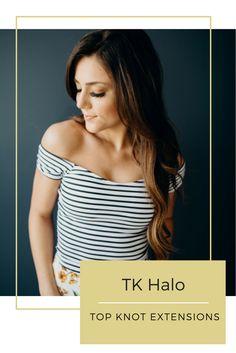 Top Knot Extensions TK Halo Color T2/8 @brittanyhixon @janelabay (swim suit)