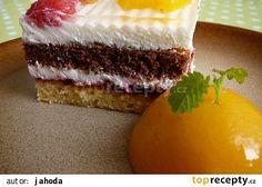 Svěží dvoubarevné dortíky recept - TopRecepty.cz Cheesecake, Food And Drink, Treats, Sweet, Hampers, Pineapple, Sweet Like Candy, Candy, Goodies