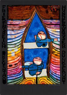 Hundertwasser - Tender Dinghi