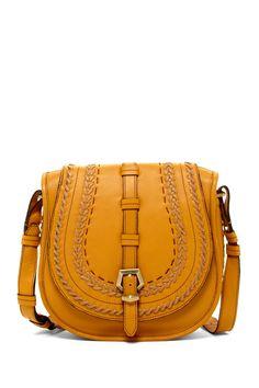 Mustard Saddle Bag