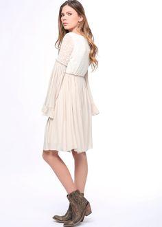 Basically Me Empire Waist Coachella Lovechild Dress – Moonshine & Lace