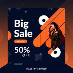 Clean instagram post template design | Premium Psd #Freepik #psd #banner #business #sale #design