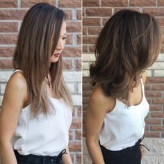 Long bob hairstyles 450500768975688265 - New Hair: The Long Bob w/ Josephine's Day Spa & Salon Source by andreakis Long Bob Hairstyles For Thick Hair, Haircuts For Medium Hair, Long To Short Hair, Braided Hairstyles Updo, Long Layered Hair, Pretty Hairstyles, Short Hair Cuts, Medium Hair Styles, Curly Hair Styles