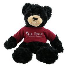 AK205 - Black Plush Hold A Bear - Customized Bear #promotional #business