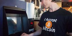 """First Bitcoin in Vancouver Coffee House. CEO shared with his attitude to new ATM launching: """"It's been a crazy day. I can't even tell you how incredible it is. There's a line in front of the machine right now. Investing In Cryptocurrency, Cryptocurrency Trading, Cryptocurrency News, Canada, Buy Bitcoin, Bitcoin Mining, New Technology, Technology Updates, Blockchain"""