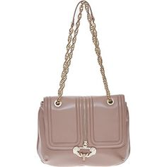 Versace Jeans Nude Saddle Bag