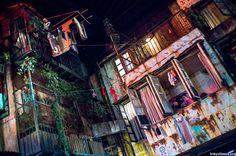 (KAWASAKI, JAPAN) Warehouse Entertainment Complex, modeled after Hong Kong's Kowloon Walled City