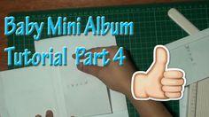 Bundle of Joy Baby Mini Album Tutorial Part 4