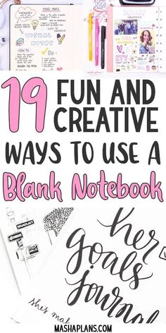 Are you looking for creative ideas to fill up all those cute empty notebook and journals you own? Here are that you can use to fill up those blank notebooks. Make sure to save for later and share with a friend. Bullet Journal Hacks, Bullet Journal How To Start A, Bullet Journal Ideas Pages, Bullet Journal Layout, Bullet Journal Inspiration, Bullet Journals, Journal Themes, My Notebook, Blank Notebook Ideas