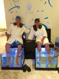 www.luxtravelpros.com Fish Spa at Secrets Maroma Beach Riviera Cancun Luxury All-Inclusive Resorts