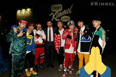 BTS at Jimmy Kimmel live show