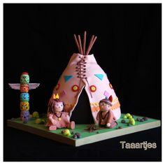 Tee Peeamerican Indian Cake on Cake Central Indian Cake, Indian Theme, Indian Party, Red Indian, Native American Cake, Indian Birthday Parties, Character Cakes, Novelty Cakes, Inspiration For Kids
