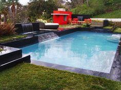 Infiniti Pool w/ Waterfall