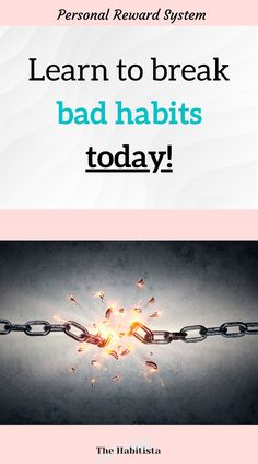 When you understand what reward you are getting from a habit you can change the habit to something that gives you the same reward, but that aligns with your goals and values! how to make a habit | how to break a habit | building habits | life values | intentional living Break A Habit, Life Values, Reward Yourself, Reward System, Finance Organization, Living A Healthy Life, Saving Ideas, Bad Habits, How To Better Yourself