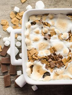 The best Easy S'mores Brownies recipe with Mom's Best Cereals
