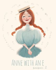 anne of green gables Anne White, Anne With An E, Anne Shirley, Love Illustration, Chibi, Fanart, Disney Wallpaper, Art Drawings, Fairy Tales