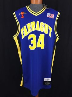 School Yard Legends Mens Size XXXL Kevin Garnett Limited Edition Farragut Jersey #SchoolYardLegends #Jerseys #Farrogot