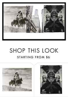 """""""Untitled #278"""" by oudanne ❤ liked on Polyvore featuring interior, interiors, interior design, home, home decor, interior decorating, Old West, Pendleton, artset and polyvoreeditorial"""