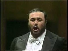 "Luciano Pavoratti with Zubin Mehta and the New York Philharmonic Orchestra ""Nessun Dorma"" (January 14, 1980)"