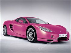 Porsche Cayman Pink 2 - Girly Cars for Female Drivers! Love Pink Cars ♥ It's the dream car for every girl ALL THINGS PINK!