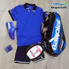 Ricomincia la stagione del #Tennis! #AngoloOutfit by Alessio Carboni.