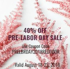 Beat the rush of the Etsy Labor Day Sale using coupon code PRELBRDAY2018REDDOOR to get 40% off. Click on the SALE section in the shop to see 23 different listings all 40% off!