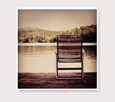 Dock Photo Lake Photography peaceful serene by semisweetstudios, $18.00