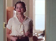 Jenna-Louise Coleman as Rosie Williams in Dancing on the Edge. Inspiration for Manon's church outfit.