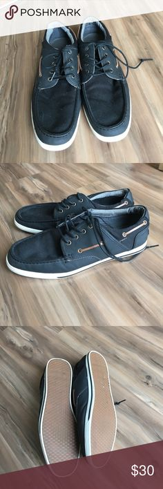 Aldo men's sneakers Sneakers are black but appear navy in the pictures. Excellent used condition. Worn once. Aldo Shoes Sneakers